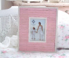 SHABBY PINK BEACH WOOD COTTAGE CHIC FRAME