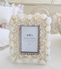 COASTAL COLLECTION BEACH SEASHELL PHOTO PICTURE FRAME
